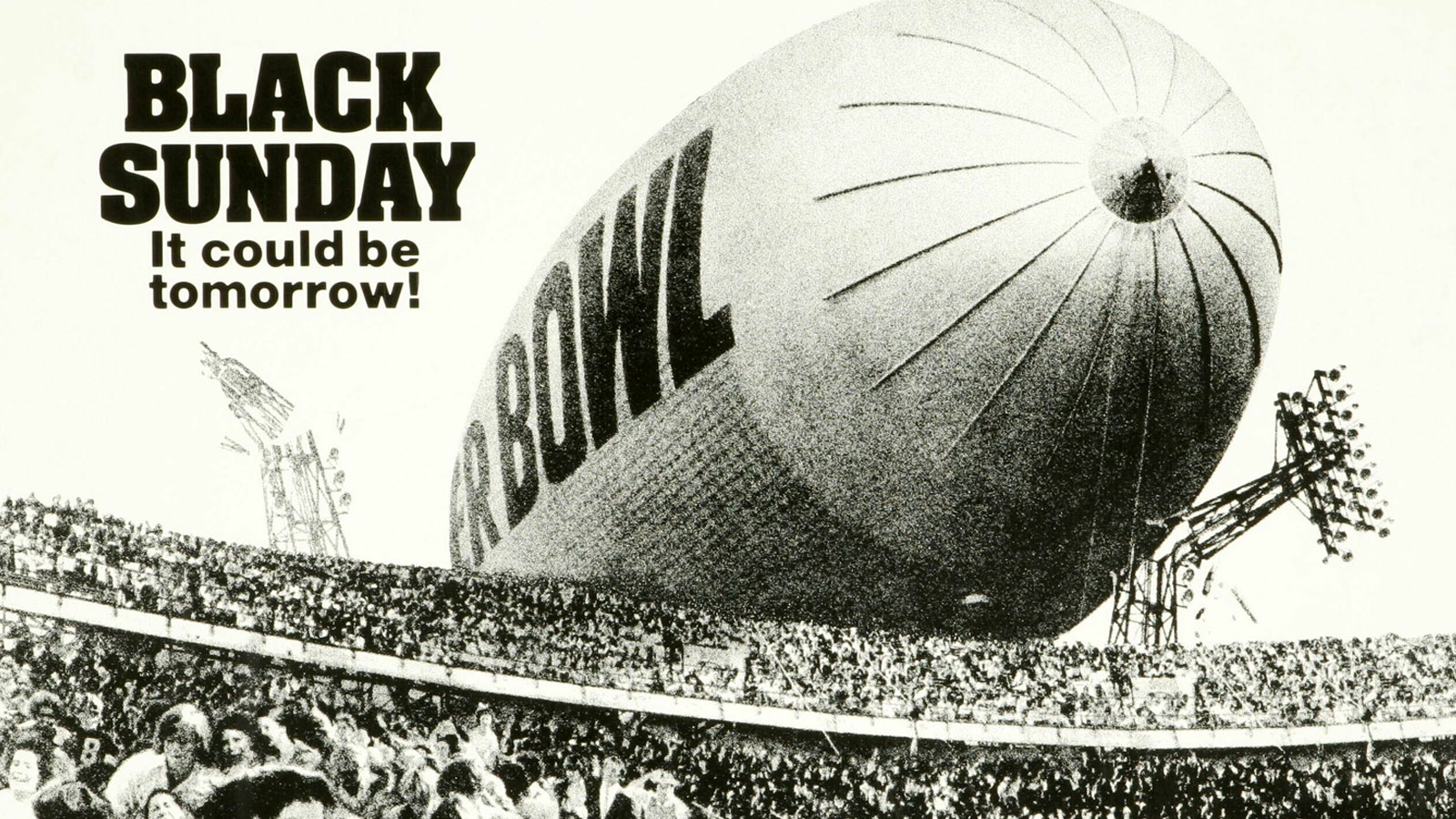 Black Sunday Blimp Image