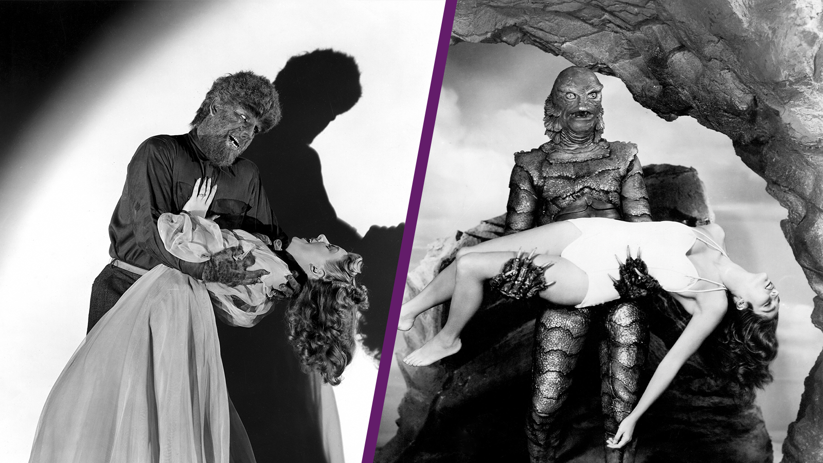 The Wolf Man & Creature from the Black Lagoon in 3D (Double Feature)