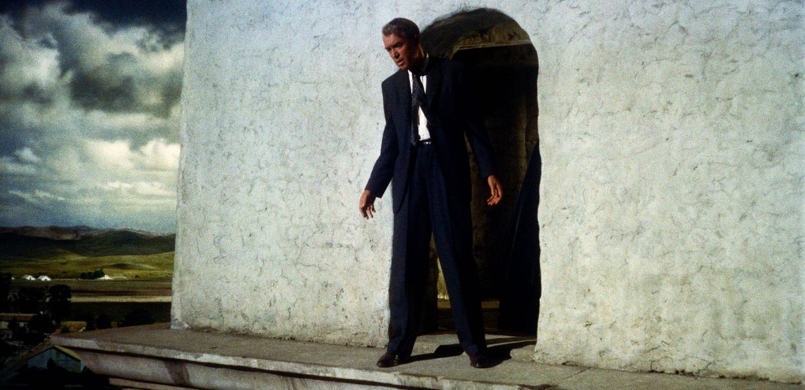 James Stewart in Vertigo